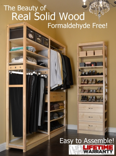 Important Facts About Solid Wood Closet Organizers Vs.