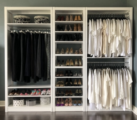 Charmant Solid Wood Closet Organizers